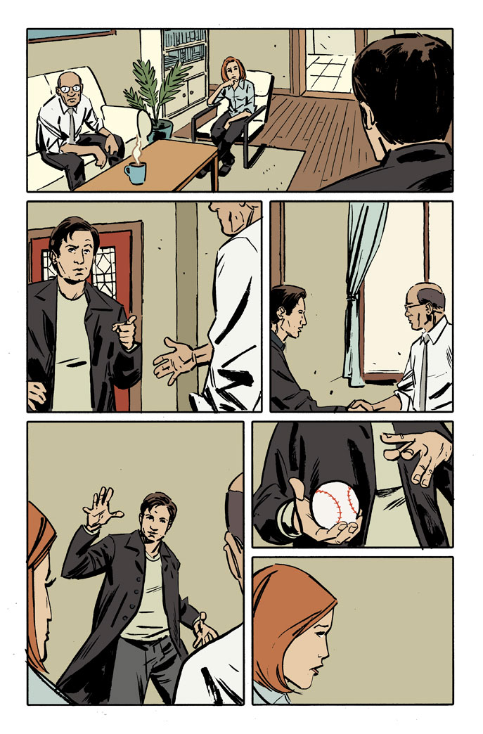 Contest: Write Your Own X-Files Comic