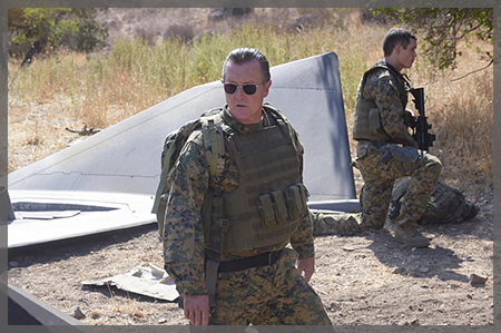 Agent Cabe Gallo from Scorpion - Photo courtesy of CBS Entertainment