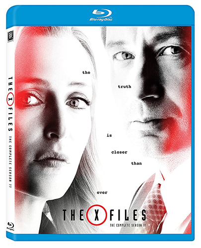 The X-Files Season 11 Blu-ray Art