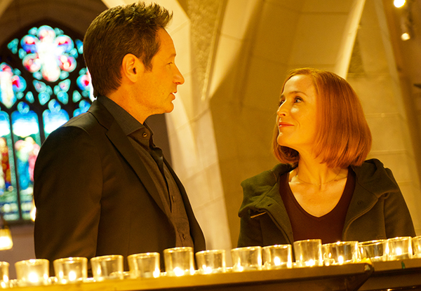 "Mulder and Scully in ""Nothing Lasts Forever"" - 11x09."