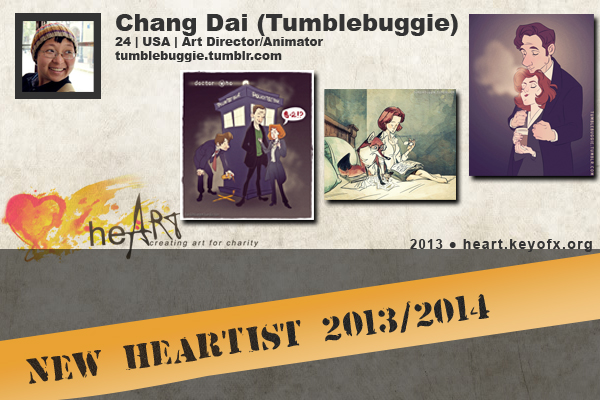 heARTists setcards tumblebuggie